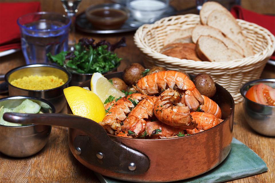 humar, humarsúpa, lobster, langoustine